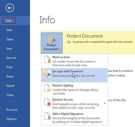 encrypt-password-in-word-document